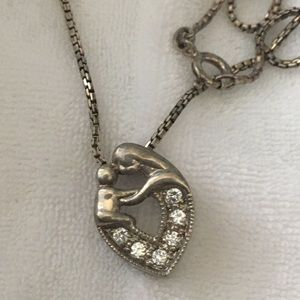 Mothers and child necklace